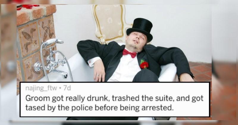 Awful Stories From The Most Disastrous Weddings Ever