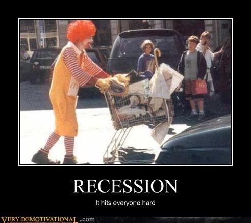 McDonald's,homeless,Ronald,recession