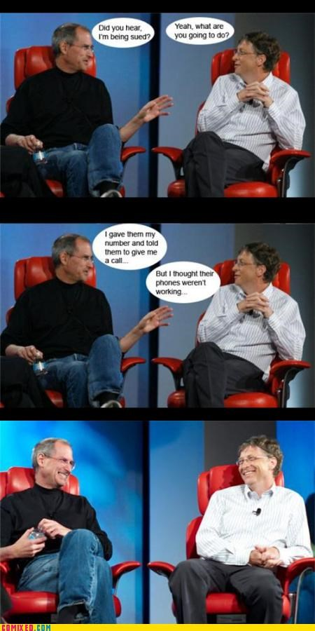 Bill Gates,celebutard,iPhones,steve jobs,technology,the internets