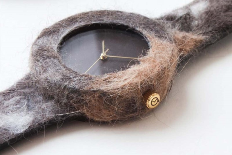watches made of your pet's fur