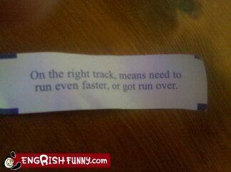 fortune cookie message restaurant - 3722107904