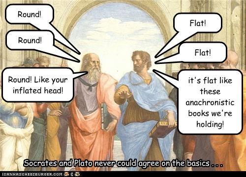 debate funny group scene historic painting philosophy - 3722296832