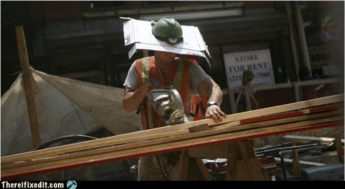 cardboard,construction,hat,Professional At Work,tan,tax dollars at work