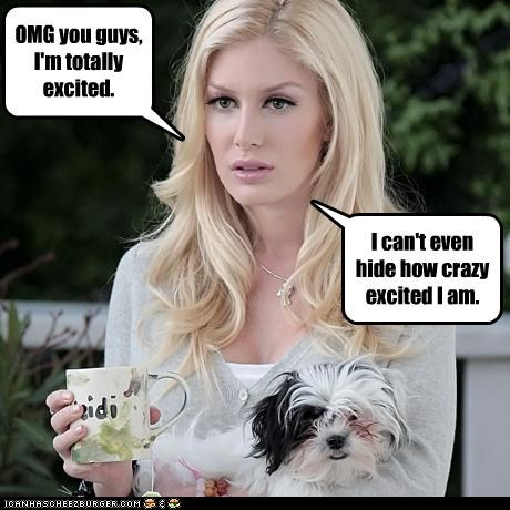 excitement,fake,Heidi Montag,plastic surgery,reality star