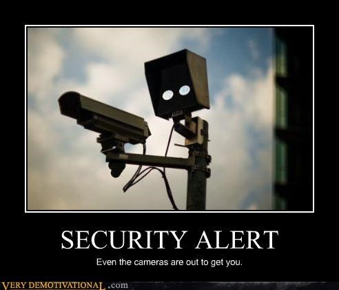anthropomorphizing cameras CCTV paranoia security Terrifying - 3724751104