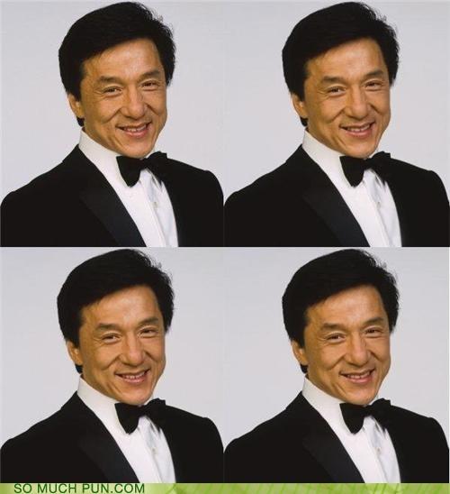 celeb forum Jackie Chan nice tux puns - 3725278208