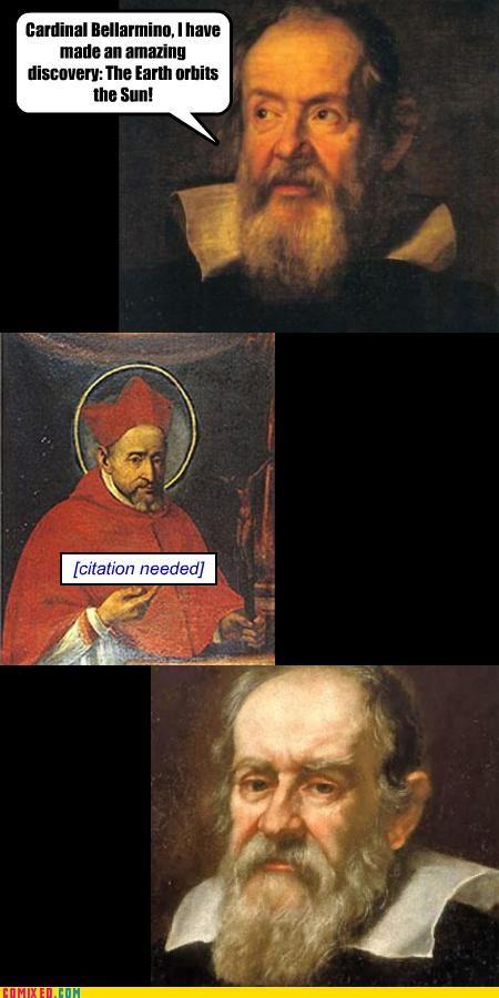Bellarmino church Copernican theories Copernicus debate galileo history research science the internets - 3725526528