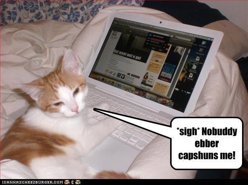 caption computer laptop Sad want - 3728576768