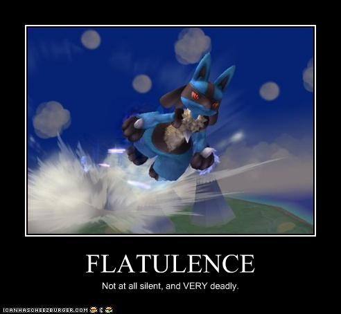 FLATULENCE Not at all silent, and VERY deadly.