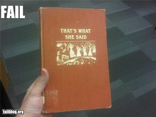 book failboat g rated joke title - 3728970496