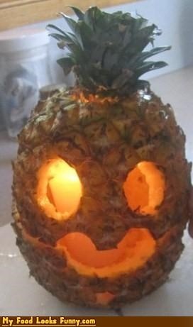fruits-veggies,halloween,jack o lanterns,pineapple,pineapple-o-lantern,summer,summerween,Tropical,tropics