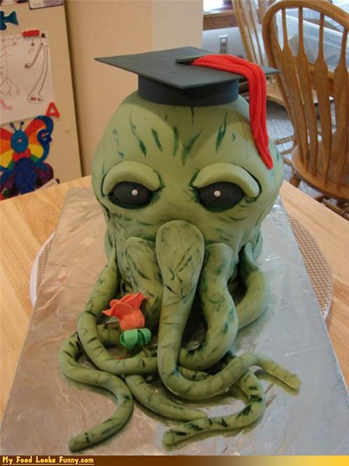 cake cthulhu h-p-lovecraft lovecraft oogly-boogly science fiction Sweet Treats The Call of Cthulhu - 3730774272
