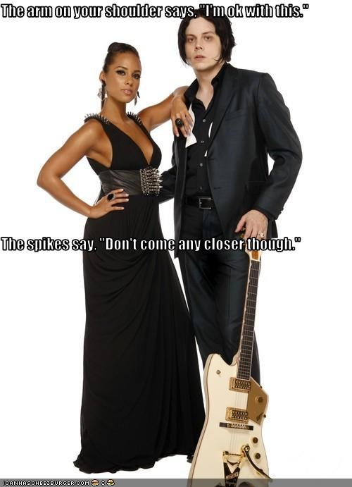 alicia keys,fashion,jack white,lolz,musician
