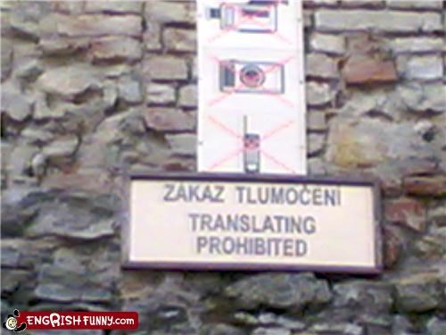 bad Prohibited sign translation - 3731204096