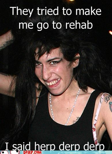 amy winehouse,caption,celeb,derp,musician,unsee