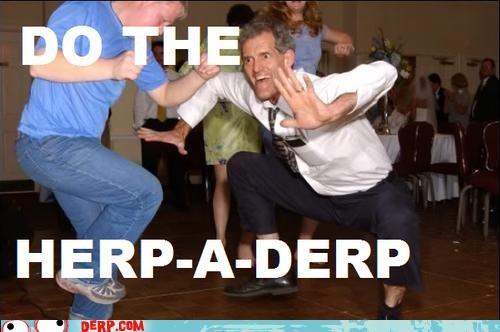 dance,derp,public acts of derpage,wedding derps