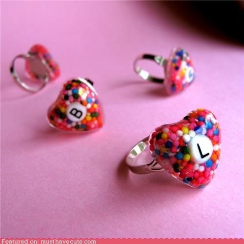 accessory,epoxy jewelry,food jewelry,Jewelry,rings