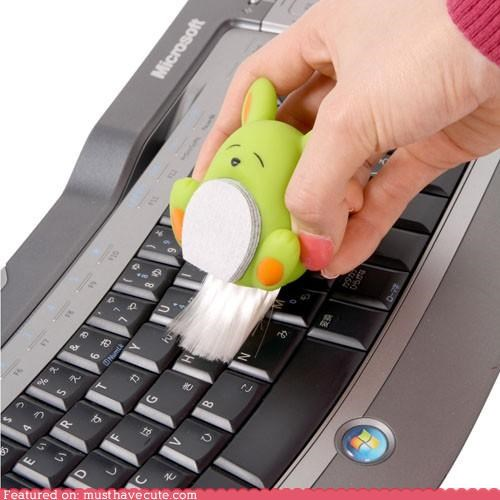 computer gadgets gadget keyboard brush Office Thanko - 3732031488