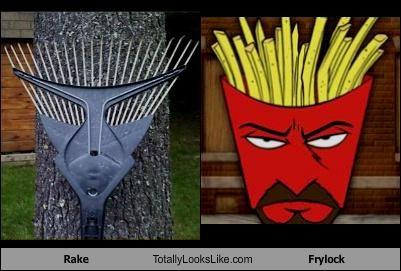 frylock,rake