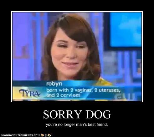 SORRY DOG you're no longer man's best friend.