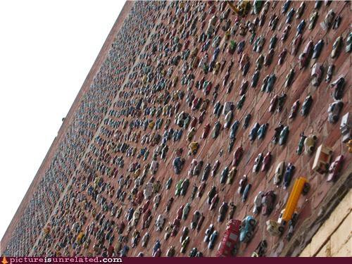 brick cars OverKill 9000 wall wtf - 3735400192
