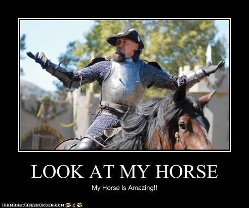 LOOK AT MY HORSE My Horse is Amazing!!