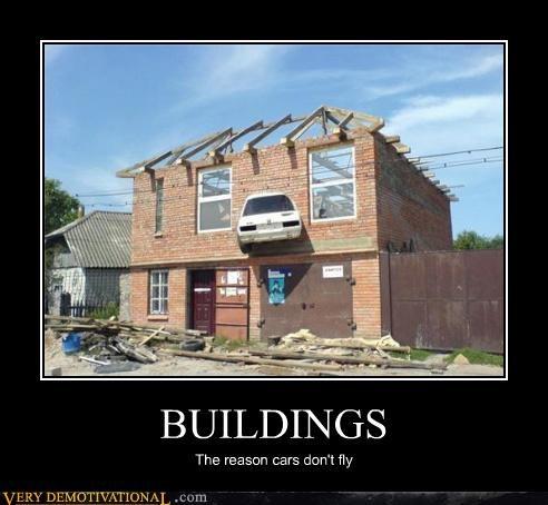 flying cars wtf buildings idiots funny - 3736899840