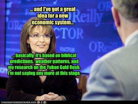 Economics funny lolz Sarah Palin - 3737643008