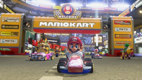 fun Mario Kart awesome video games couple date night dating - 374021