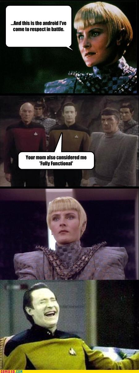 data jokes romulans Star Trek your mom - 3741496576