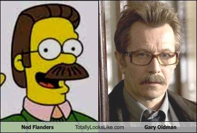 Gary Oldman ned flanders simpsons - 3742884864
