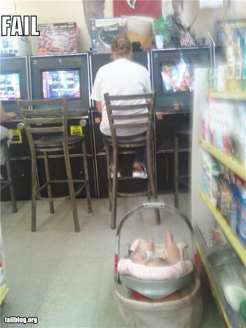 baby failboat gambling infant parents - 3743328768