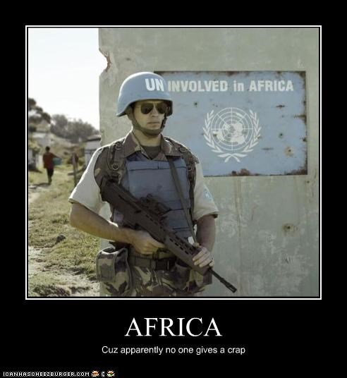 africa demotivational funny lolz United Nations - 3743603200