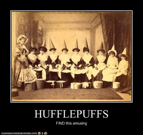HUFFLEPUFFS FIND this amusing