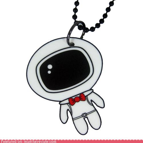 astronaut,chain,Jewelry,necklace,pendant