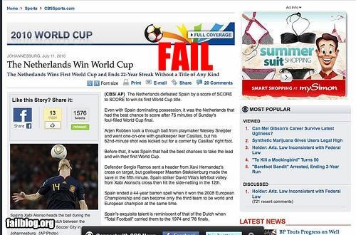 failboat g rated Netherlands winner world cup wrong - 3746020864