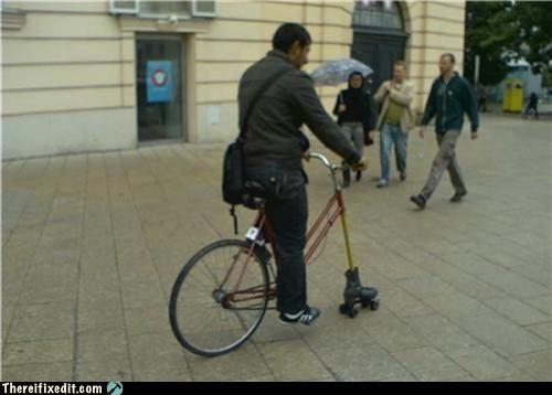 awesome bike hybrid james caan Kludge racer Rollerball rollerskate - 3747033856