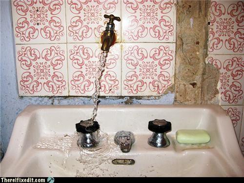 bathroom faucet Kludge water whoops - 3748860416
