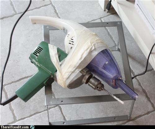 Kludge power tools tape vacuum - 3750299904