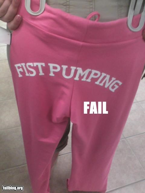butts clothes failboat fists jersey shore pumping sweatpants - 3750897408