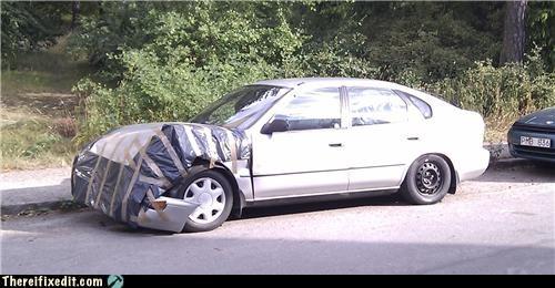 car cheap fix Kludge may be safe to drive tape - 3753494784