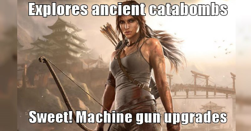 Ridiculous Moments of Video Game Logic