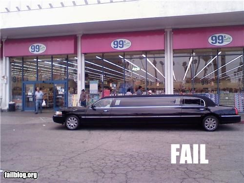 99 Cent Limo Where would you take a Limo to?