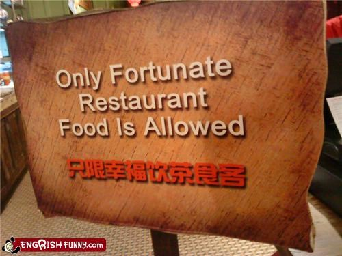 food,restaurants,signs,unfortunate