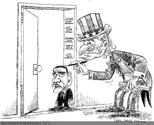 barack obama cartoons politics Uncle Sam - 3760803072