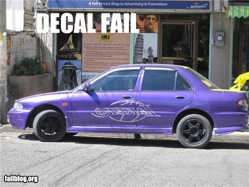 Decal Fail