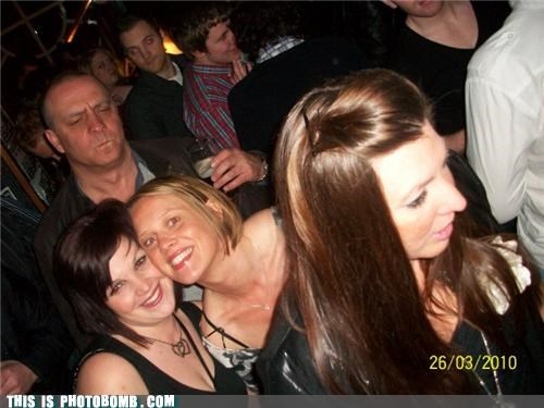 club forever alone old guy photobomb pokerface