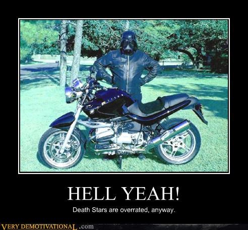 star wars awesome motorcycle funny darth vader - 3764036352