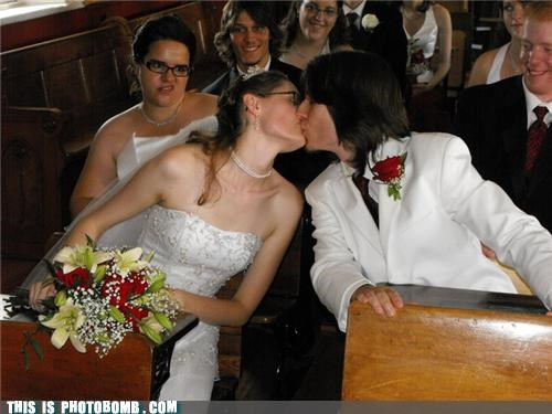 face formal glasses jk kissing photobomb weddings - 3764713216