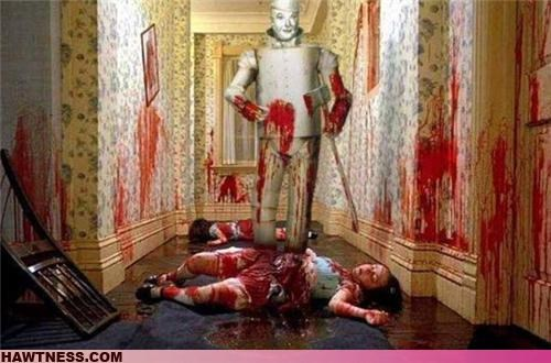 Movie shining tin man wizard of oz wtf
